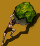 Sisyphus and his rock